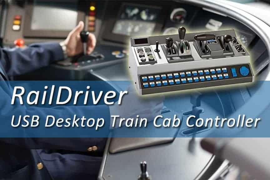 RailDriver USB Desktop Train Cab Controller