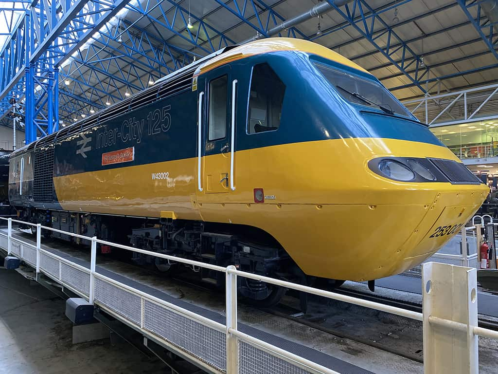 InterCity 125 - National Railway Museum - York - UK