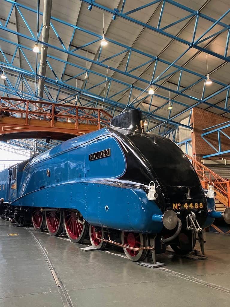 Mallard is an LNER Class A4 4-6-2 Pacific steam locomotive